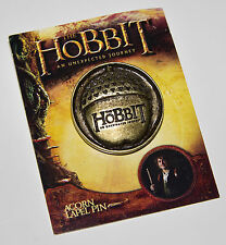 The Hobbit Acorn Pin SDCC Comic Con Lord of the Rings Tolkien LOTR