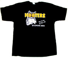 Hooters Uniform Sturgis Big Daddy Biker Rally T-Shirt XXL owl logo VINTAGE