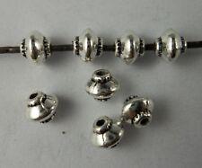 100pcs Tibetan silver lantern Spacer bead 4x5mm