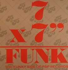 "FUNK BOX Peter Brown & Patrick Adams 7X7""Vinyl 45 RPM Records Box 7 Singles NEW"