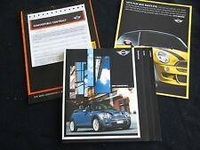 2004 MINI Cooper Conv't & Cooper S Convertible 80pg Brochure & Catalog Sheet set