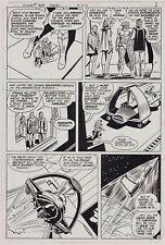 ORIGINAL ART Page, Superman #368 p. 2, Curt Swan, 2/1982, DC Comics