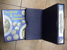 CARTELLA RACCOGLITORE ABAFIL VOLUME I per 2 EURO COMMEMORATIVI + AGGIORNAMENTI