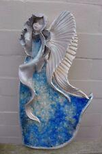 ANGELO in ceramica da appendere ARTE fatto a mano realizzato a mano BELLISSIMI COLORI Fattoria shop 06-02