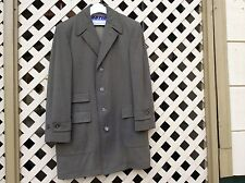 VINTAGE MEN'S WOOL FULL LENGHT COAT ALEXANDRE OF OXFORD ST LONDON Wl