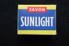 Boite savon Sunlight 100 grammes LEVER PARIS SPERBE ETAT années 50/60