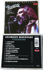 GEORGES MOUSTAKI Chansons .. 1989 Polydor CD TOP