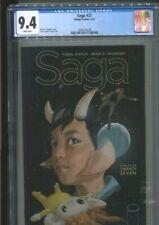 SAGA 27 BRIAN K. VAUGHAN STORY FIONA STAPLES COVER AND ART CGC NEAR MINT 9.4