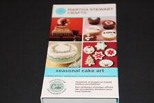 Seasonal Cake Art Martha Stewart  Cricut cartridge  LINKED