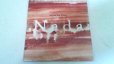 "DUNCAN DHU ""NADA"" CD SINGLE 1 TRACKS"