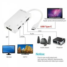 USB 3.1 tipo C A 4k Display Port/HDMI/VGA/Audio Femmina Convertitore Adattatore