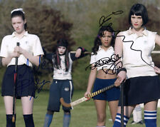 G ARTERTON, T RILEY & K DRYSDALE - Signed 10x8 Photograph - FILM - ST TRINIANS