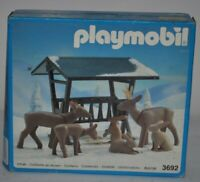 OG 1991 GEOBRA PLAYMOBIL 3692 ANIMALS NEW IN BOX UNOPENED MADE IN GERMANY