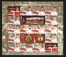** MNH stamps FIVB Poland 2014 VOLLEYBALL - gold medalists stamps