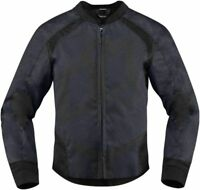 Icon Women's Overlord Black Textile Jacket