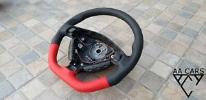 Steering Wheel Opel Astra II G Bertone OPC GTC  Flat Bottom Red