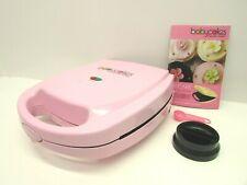 BabyCakes Model CC-2828 Cupcake Maker Makes 8 Mini Cupcakes Non-Stick Pink  EUC!