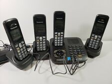 Panasonic Cordless Phones 4 Handsets w/ Base Units and Chargers Model KX-TG6441