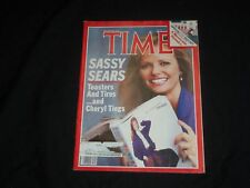 1984 AUGUST 20 TIME MAGAZINE - CHERYL TIEGS, SASSY SEARS - T 2403