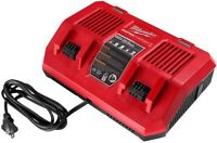 Milwaukee 48-59-1802 M18 Dual Bay Simultaneous Rapid Charger Brand NEW  unopened