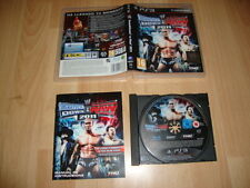 WWE SMACKDOWN VS. RAW 2011 DE THQ PARA LA SONY PS3 USADO COMPLETO