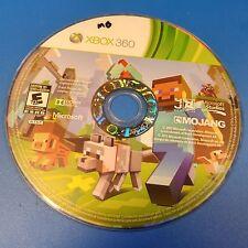 Minecraft (Microsoft Xbox 360, 2013) DISC ONLY