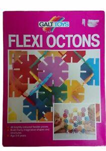 Galt Toys Flexi Octons Vintage Construction Build Shapes & Structures Set