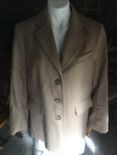 L.L. Bean wool & cashmere camel jacket size 14 regular