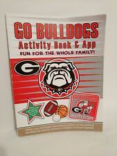 Georgia Bulldogs Sports Activity Book Coloring Stickers Puzzles Games