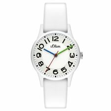 S.Oliver Ladies Watch Wristwatch Silicone so-3519-pq