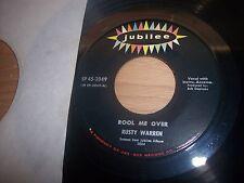 """VG+ Rusty Warren Rool Me Over / Do It Now 7"""" 45RPM w/ppr slv"""