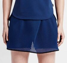 Nike Court Modern Flare Tennis Skort Shorts Colour Deep Blue Size Small