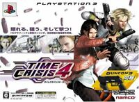 USED PS3 Time Crisis 4 not guncon Japan import