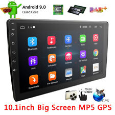 "10.1"" Android 9.0 Double Din Car Stereo Bluetooth WiFi MP5 Player GPS Navigation"