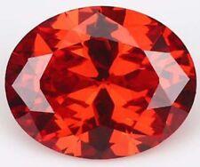 Padparadscha Zircon 15x20mm 30.26Ct  Oval Cut AAAAA VVS Loose Gemstone