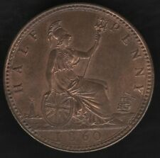 More details for 1860 b victoria halfpenny coin '5 berries'   british coins   pennies2pounds