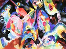 Wassily Kandinsky russe abstraite OLD MASTER ART PAINTING imprimé Poster 3045omlv