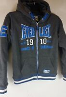 Junior Everlast Zipped Hoodie Heavy Weight Thick Warm Fur Lining 13 XLB B142