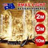 20/50/100 LED batteriebetriebene Mini LED Kupferdraht String Fairy Lights 10M