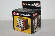 Fischer C-Box NEU in OVP Original MC Cassetten-Box cBox 5er Kassette