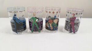 4 NWL Batman Robin Riddler Two-Face Plastic Drinking Cups