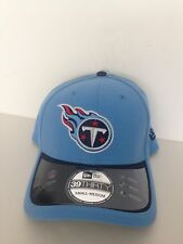 Tennessee Titans New ERA 39Thirty 2015 Sideline Stretch fit hat S/M Blue