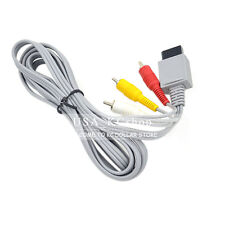 New Audio Video AV Premium Composite 3 RCA transmission Cable for Nintendo Wii
