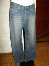 Pantalon jeans bleu délavé TEDDY SMITH W31 L34 ou 40FR coupe droite 18NA3