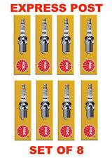 NGK SPARK PLUGS SET BPR5ES X 8 - FORD LASER KC BENTLEY MULSANNE RANGE ROVER