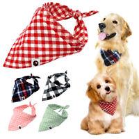 5 Stück Hundehalstuch Hundehalsband Hunde Welpe Halstuch Soft BAUMWOLLE 5 Farben