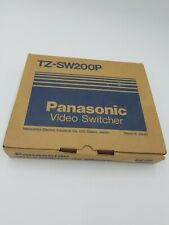 Panasonic Video Switcher Model Cable TV VCR AUX Decoder TZ-SW200P Made in Japan