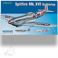 EDUARD 1/48 SPITFIRE MK.XVI 'BUBBLETOP' WEEKEND EDITION 84141