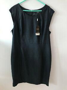 Next - Ladies UK 16 - Grey Office Dress New w/ tags RRP £35