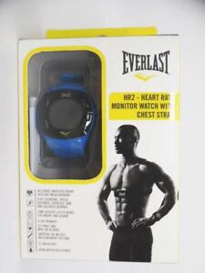 Everlast Chinese-Automatic Fitness Watch Rubber Strap Blue 22 (Model EVWHR002BL)
